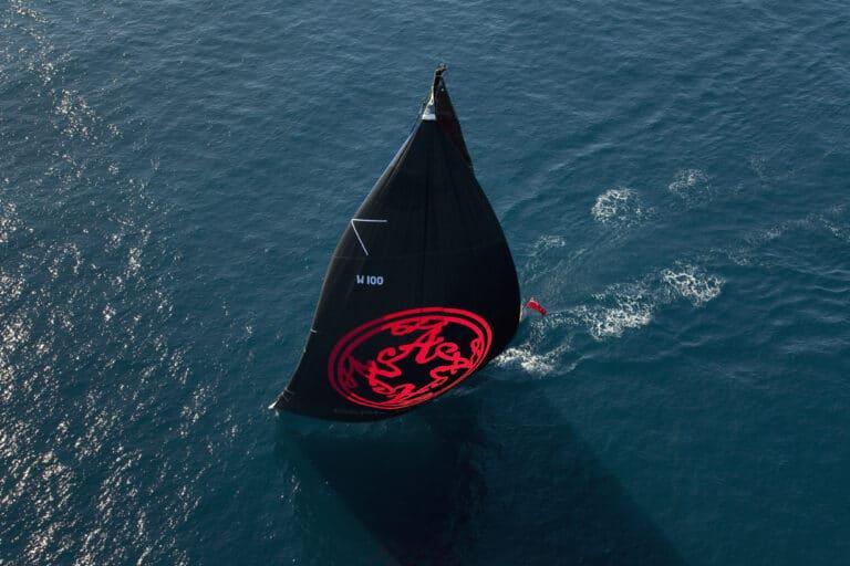 Super Yacht Dark Shadow BLACK main sail