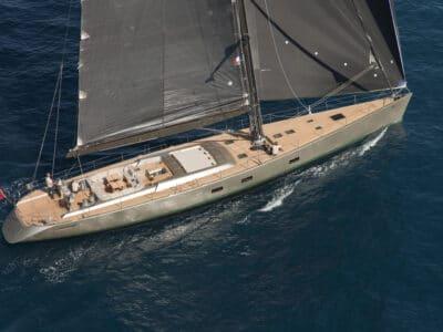 Super Yacht Dark Shadow mainsail
