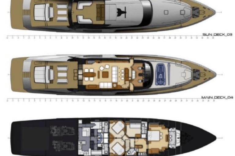 Super Yacht BAGHEERA - General arrangement