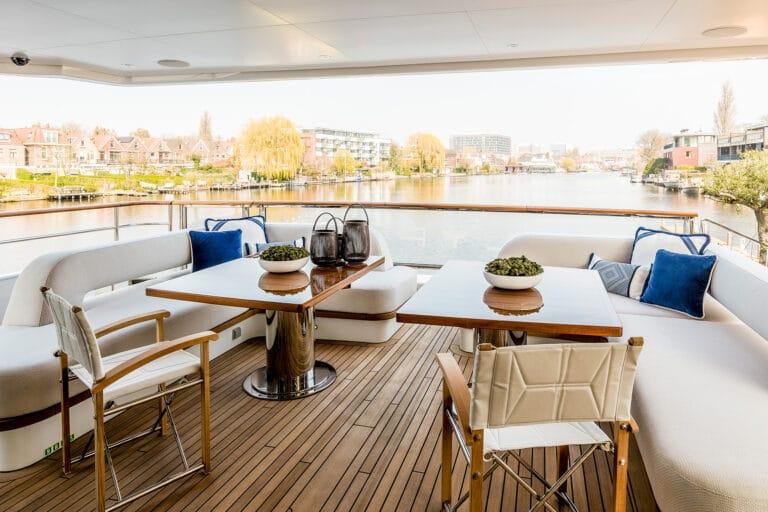 Motor Yacht Calypso Aft Deck