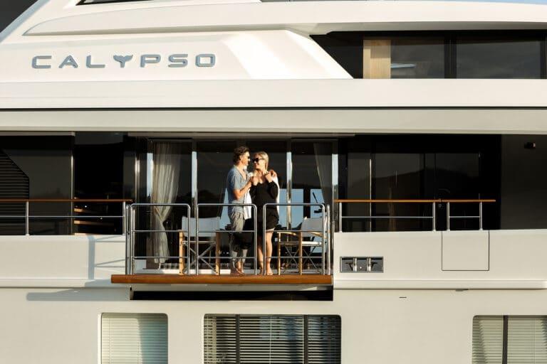 Motor Yacht Calypso Balcony