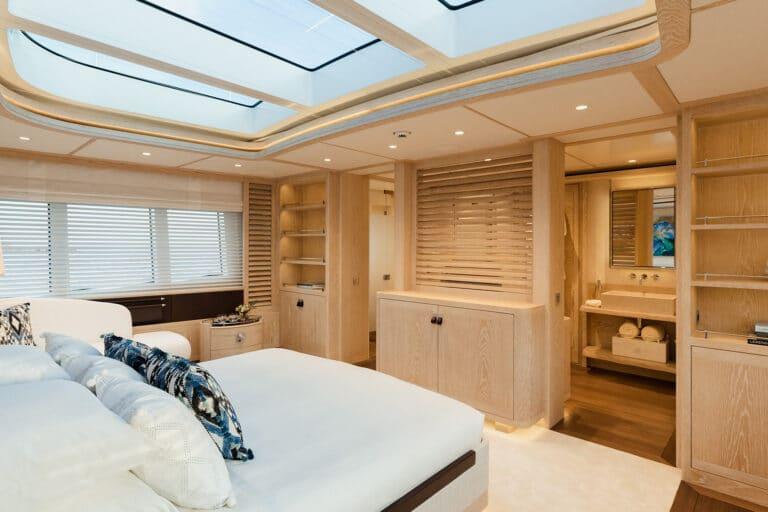 Motor Yacht Calypso Master Stateroom 2