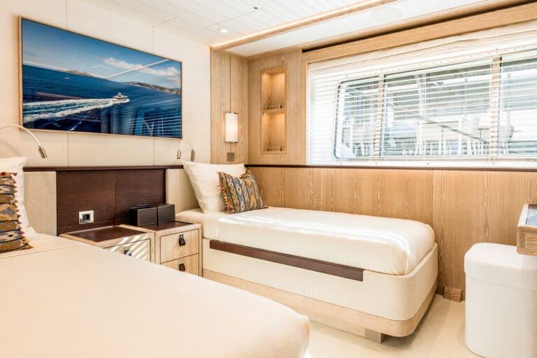 Motor Yacht Calypso Twin Stateroom