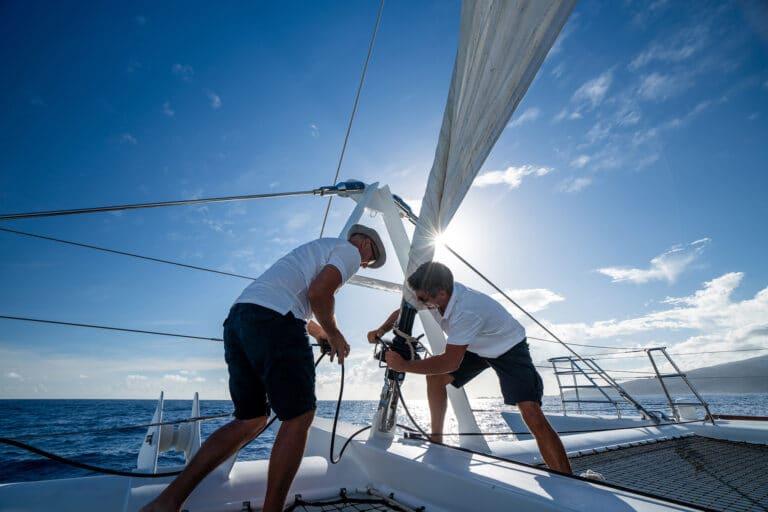 Super yacht DOUCE FRANCE - Sailing