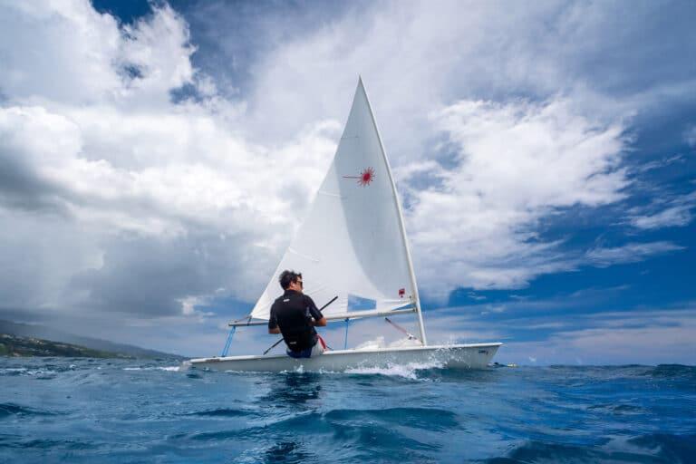 Super yacht DOUCE FRANCE - Sailing Dinghy