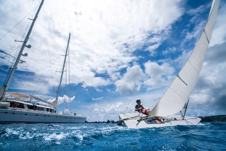 Super yacht DOUCE FRANCE - Toys - Sailing Dinghy