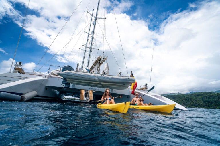 Super yacht DOUCE FRANCE - 2 Sea Kayaks