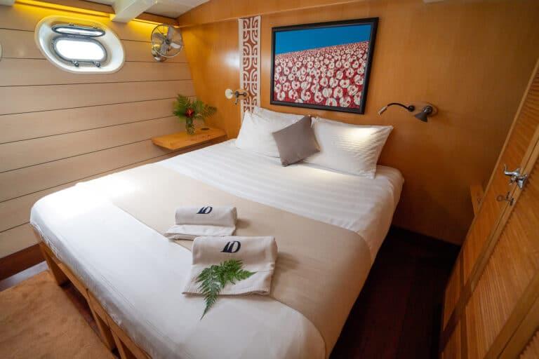 Super yacht DOUCE FRANCE - Master cabin