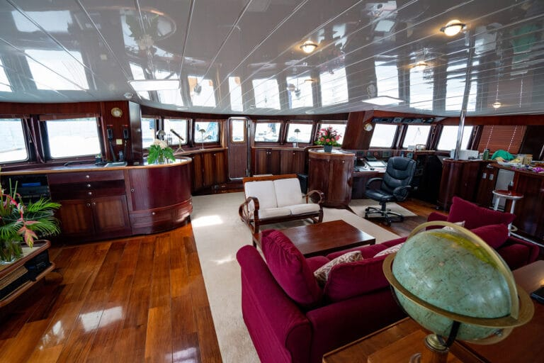Super yacht DOUCE FRANCE - Living spaces
