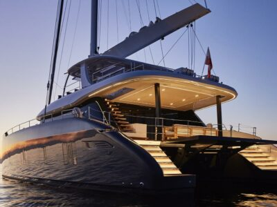 Super Yacht GENNY - Luxury Catamaran available for charter
