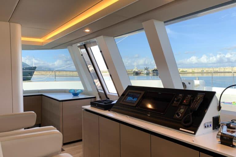 Luxury Catamaran GENNY - Sunreef 80 - Cockpit
