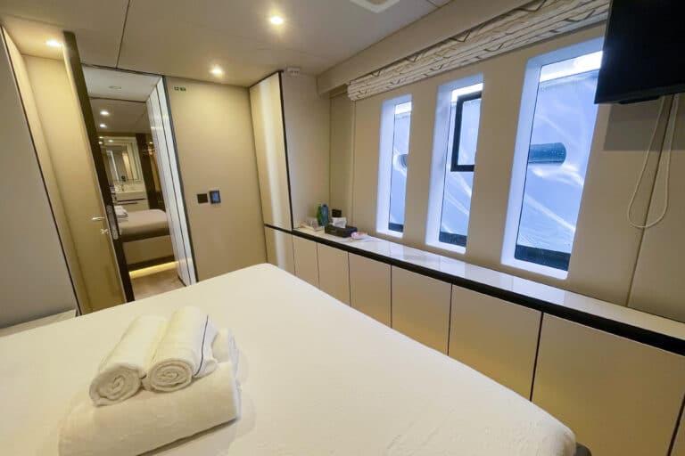Luxury Catamaran GENNY - Sunreef 80 - Cabin