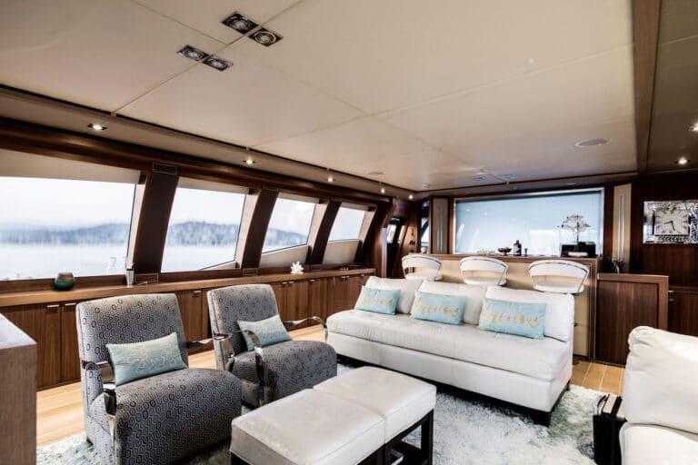 Yacht Bagheera - saloon 2