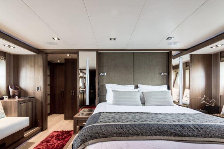 lower deck master stateroom