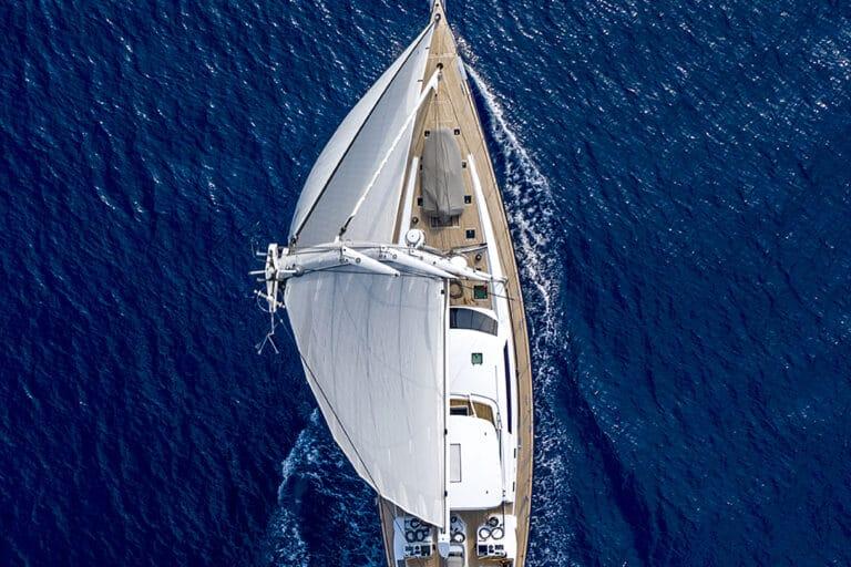 Sailing Yacht LADY 8 - Drone