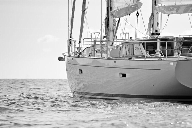 Sailing Yacht Helene - Side