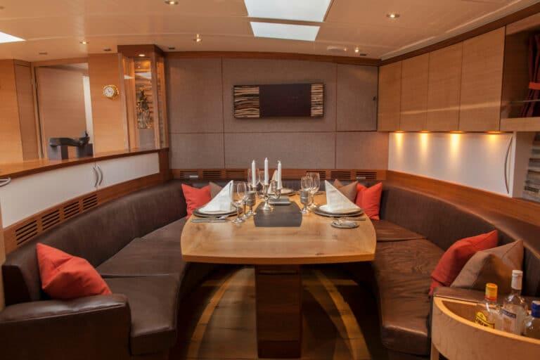 Sailing Yacht Helene - Dining