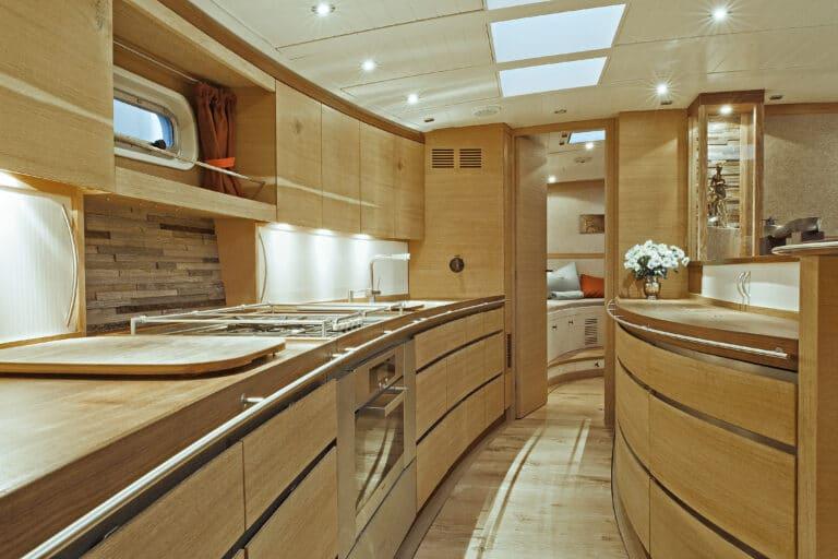 Sailing Yacht Helene - Kitchen