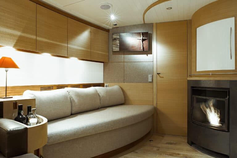 Sailing Yacht Helene - Master cabin