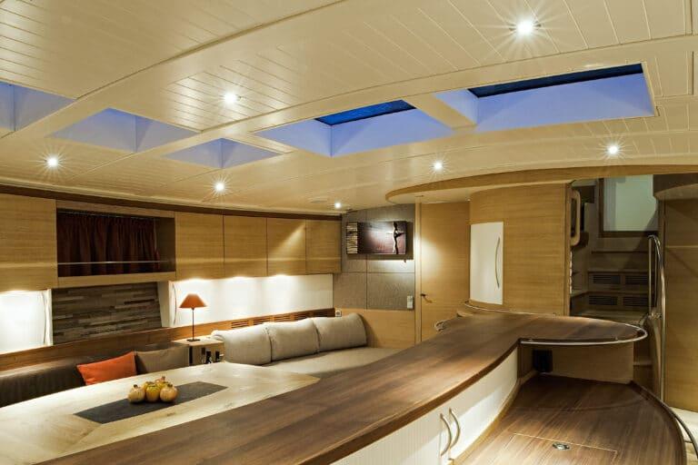 Sailing Yacht Helene - Saloon