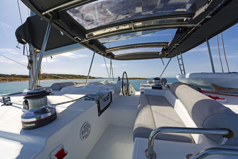 Luxury Sailing Catamaran IDEA! - Cockpit