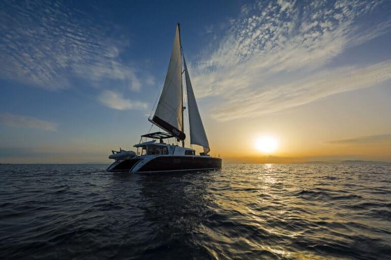 Luxury Sailing Catamaran IDEA! - Sunset