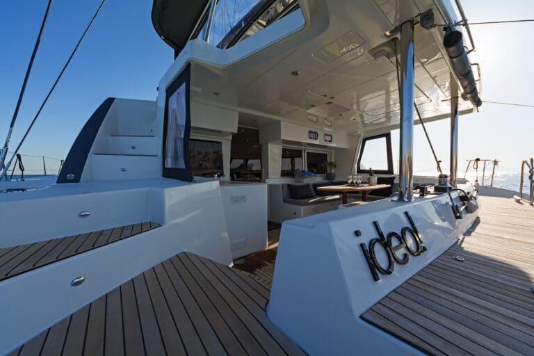 Luxury Sailing Catamaran IDEA! - Dining