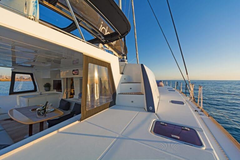 Luxury Sailing Catamaran IDEA! - lounge