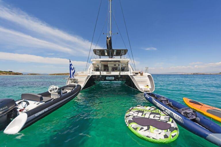 Luxury Sailing Catamaran IDEA! - toys and amenities