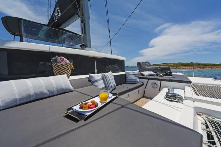 Luxury Sailing Catamaran IDEA! - Sun deck