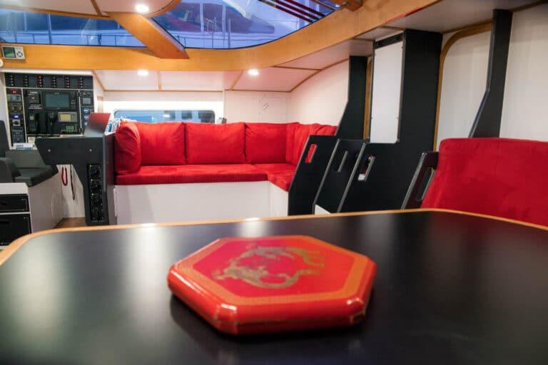 Luxury yacht LEATSA - Interior