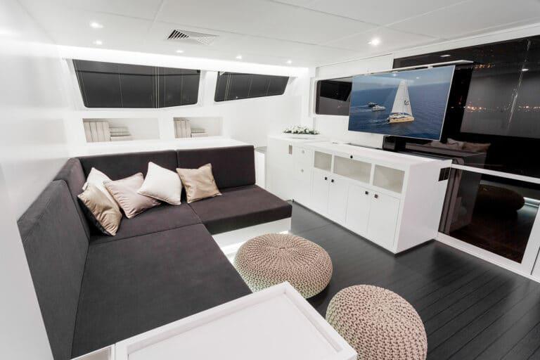 Luxury Catamaran LEVANTE - Lounge