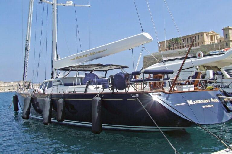 Luxury Sailing Yacht - Margaret Ann - Aft deck