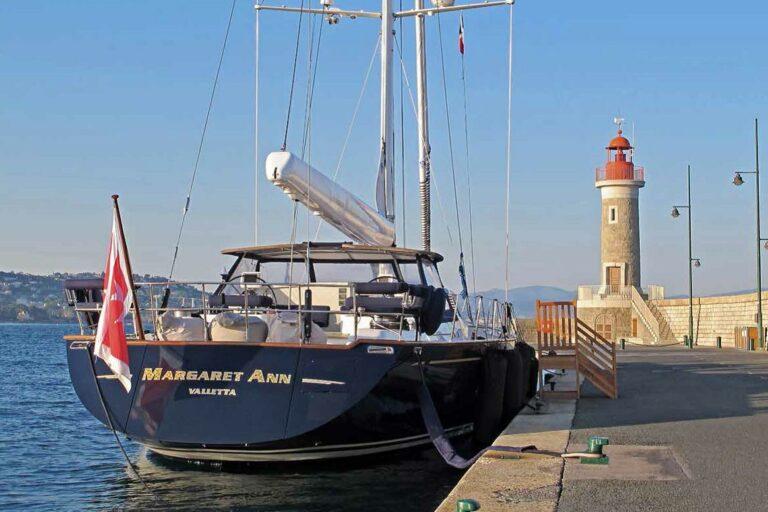 Luxury Sailing Yacht - Margaret Ann - At Anchor