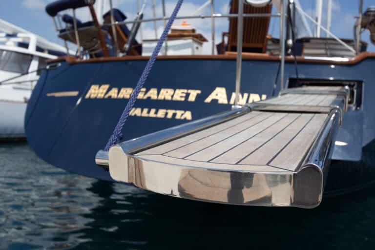 Luxury Sailing Yacht - Margaret Ann - Detail