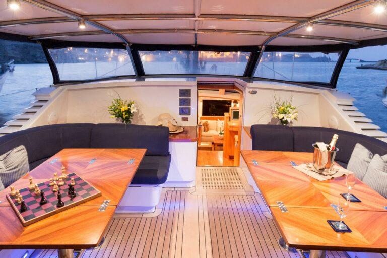 Luxury Sailing Yacht - Margaret Ann - Dining