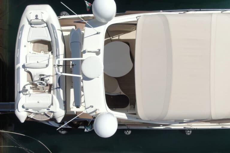 Luxury Motor Yacht MEDUSA Bird view