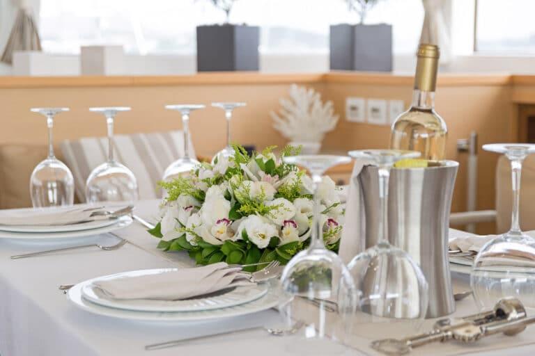 MELITI - Luxury Catamaran Dining
