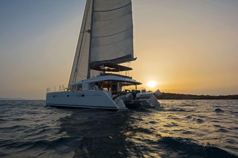 MELITI - Luxury Catamaran Sunset