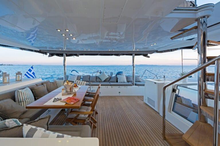 MELITI - Luxury Catamaran Al Fresco Dining