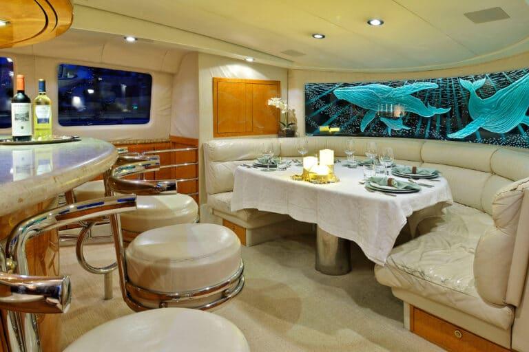 Luxury Motor Yacht MOONRAKER living spaces