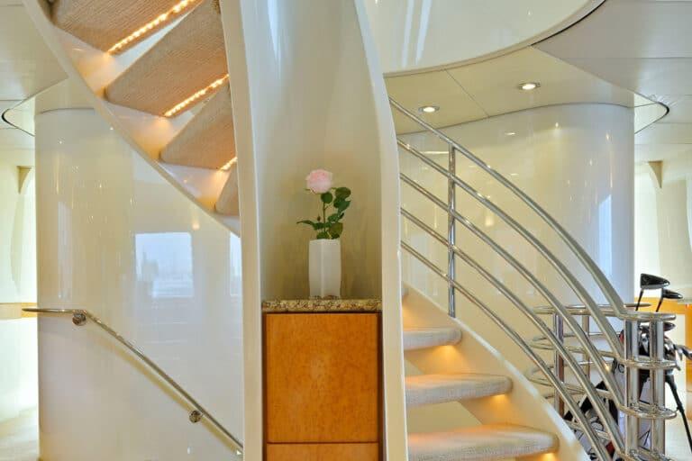 Luxury Motor Yacht MOONRAKER interior