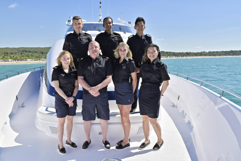 Luxury Motor Yacht MOONRAKER crew