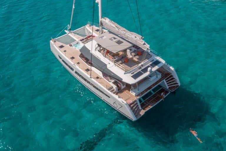Luxury Catamaran NUMBER ONE - Drone