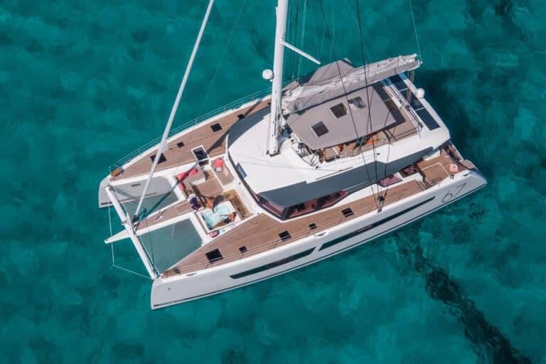 Luxury Catamaran NUMBER ONE - Bird view
