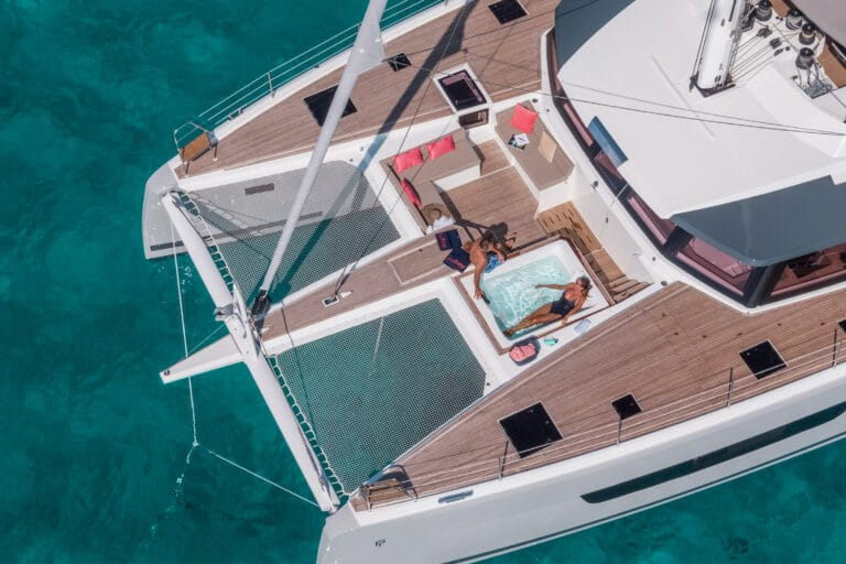 Luxury Catamaran NUMBER ONE - Trampoline