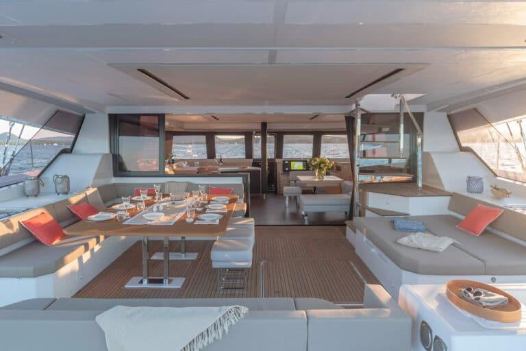 Luxury Catamaran NUMBER ONE - Exterior Dining are