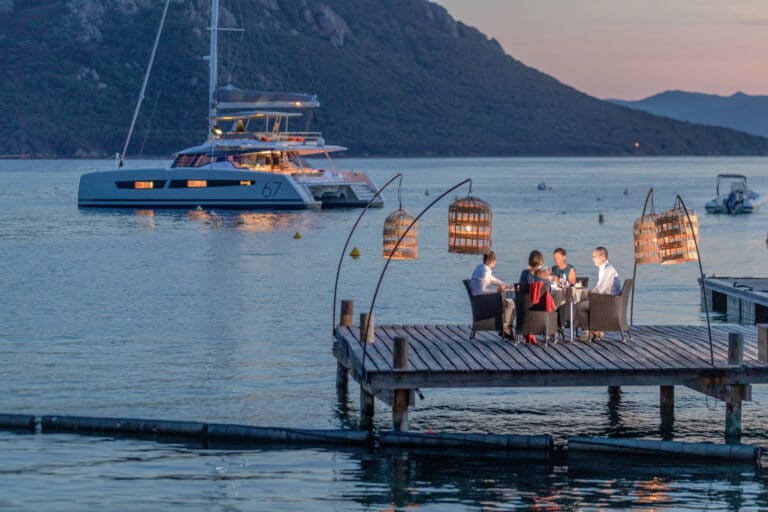 Luxury Catamaran NUMBER ONE - Romantic Dining