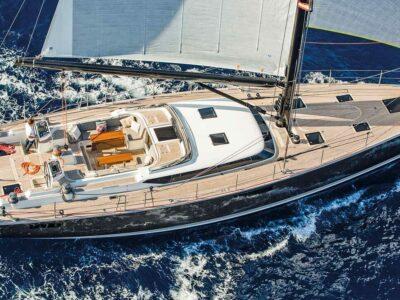 Sailing Yacht PH3 aerial