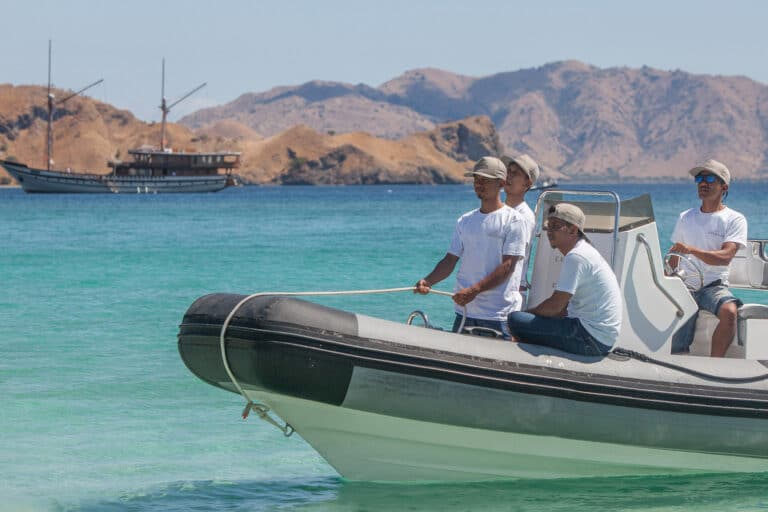 Luxurious Phinisi yacht PRANA Tender
